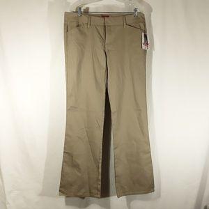 Dickies Pants - Dickie's Slim Khaki Boot Leg Leg Pants NWT